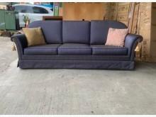 [9成新] 三人布沙發/扶手沙發/沙發椅多件沙發組無破損有使用痕跡