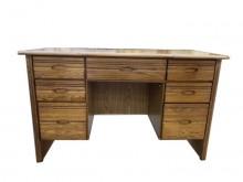 [9成新] B080204*半實木7抽書桌*書桌/椅無破損有使用痕跡