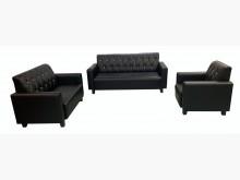 [全新] SX807iA全新123黑皮沙發多件沙發組全新