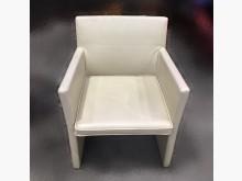 [9成新] A73004*米色單人皮革沙發單人沙發無破損有使用痕跡