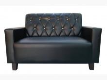 [全新] SX807CA全新2人座黑皮沙發雙人沙發全新