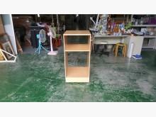 [7成新及以下] 合運二手傢俱~活動式木紋二格櫃其它櫥櫃有明顯破損