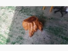 [8成新] 合運二手傢俱~龍柏木頭矮椅椅子有輕微破損