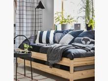 [9成新] 6折清~IKEA疊床含床墊,可當沙發床無破損有使用痕跡
