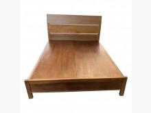 [9成新] TK82110* 柚木雙人床架*雙人床架無破損有使用痕跡