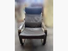 [9成新] A82009*咖啡色單人牛皮沙發單人沙發無破損有使用痕跡