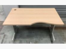[8成新] C82602*木紋辦公桌*辦公桌有輕微破損