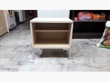 [全新] 手作實木貼皮~白鐵脚白彰色床邊櫃床頭櫃全新