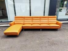 [9成新] 義大利大型L型沙發L型沙發無破損有使用痕跡