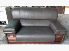 [9成新] 九成新厚牛皮半牛皮2+3置物抽屜多件沙發組無破損有使用痕跡