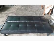 [9成新] 簡易型黑色兩用沙發椅床沙發床無破損有使用痕跡