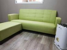 [全新] 合運二手傢俱~全新三人沙發+腳凳L型沙發全新