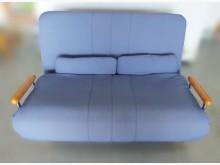 [9成新] 藍色沙發床沙發床無破損有使用痕跡