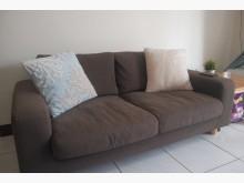 [9成新] Muji 無印良品雙人沙發雙人沙發無破損有使用痕跡