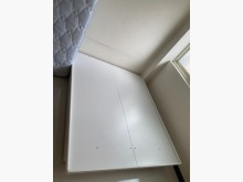 [9成新] 雙人乳膠獨立筒床墊+可掀式床架雙人床墊無破損有使用痕跡
