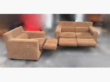 [95成新] A91001*咖啡色1+2布沙發多件沙發組近乎全新
