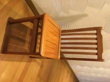 [8成新] 二手木頭書桌椅書桌/椅有輕微破損