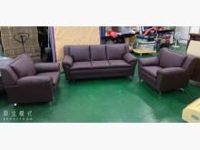 [全新] 99063108咖啡皮沙發組多件沙發組全新