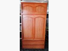 [8成新] 三合二手物流(精美4尺衣櫃)衣櫃/衣櫥有輕微破損