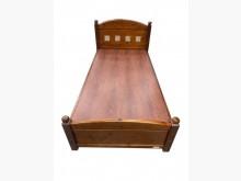 [9成新] B91507*半實木3.5尺床架單人床架無破損有使用痕跡