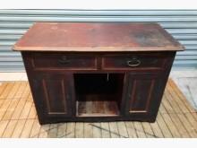 [7成新及以下] 古早味餐櫃書桌/椅有明顯破損