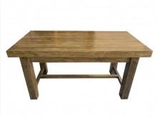 [9成新] E91804*原木餐桌*餐桌無破損有使用痕跡