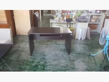 [8成新] 合運二手傢俱~胡桃色書桌3070書桌/椅有輕微破損
