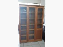 [95成新] 九成五新4尺玻璃置物書櫃書櫃/書架近乎全新