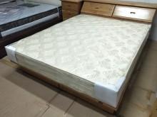 [8成新] 二手5尺雙人彈簧床墊 超硬式床墊雙人床墊有輕微破損