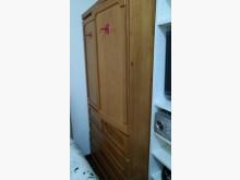 [9成新] 3尺實木衣櫃賣屋隨便賣衣櫃/衣櫥無破損有使用痕跡