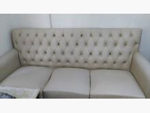 [9成新] 米白色水鑽沙發折現隨便賣撿便宜雙人沙發無破損有使用痕跡