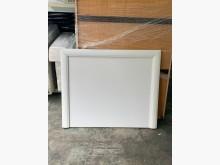 [9成新] 3.5尺烤白床頭片*床頭箱*床頭床頭櫃無破損有使用痕跡