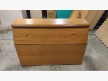 [9成新] 【尚典中古家具】黃橡色單人床頭箱床頭櫃無破損有使用痕跡