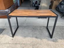 全新工業風餐桌/鐵角餐桌/書桌餐桌全新