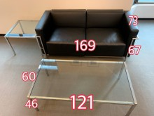 [9成新] 二手高級沙殺發組多件沙發組無破損有使用痕跡