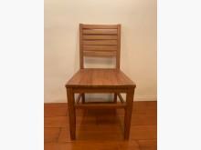 [8成新] 詩肯柚木 餐椅 實木椅 2張一組餐椅有輕微破損