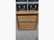 [9成新] 【尚典中古家具】松木色傳統床邊櫃床頭櫃無破損有使用痕跡