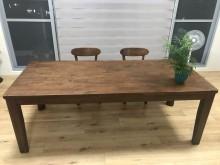 [95成新] 超美質感實木餐桌餐桌近乎全新