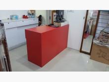 [8成新] 櫃台也可當書桌(木心板訂製)書桌/椅有輕微破損