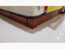 [8成新] 高尚典雅雙人床架&彈簧床雙人床架有輕微破損
