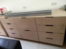 [8成新] 超好用辦公抽屜櫃,使用狀況良好辦公櫥櫃有輕微破損