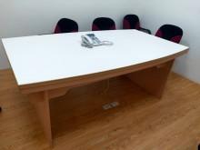 [8成新] 可拆裝式會議桌,使用狀況良好會議桌有輕微破損