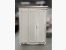 [9成新] B10927*白色3門5尺衣櫃*衣櫃/衣櫥無破損有使用痕跡