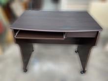 [9成新] E101001*胡桃色電腦桌*書桌/椅無破損有使用痕跡