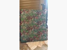 [9成新] 【尚典中古家具】碎花5呎傳統床墊雙人床墊無破損有使用痕跡
