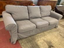 [9成新] IKEA-EKTORP三人布沙發多件沙發組無破損有使用痕跡