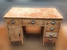 [7成新及以下] 檜木書桌書桌/椅有明顯破損