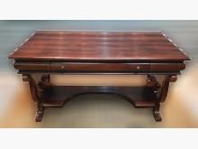 [8成新] 古典書桌書桌/椅有輕微破損