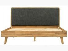 [全新] SEB原木5尺雙人床$20800雙人床架全新