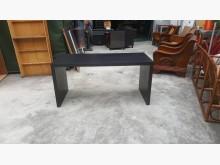 合運二手傢俱~黑色辦公書桌書桌/椅無破損有使用痕跡